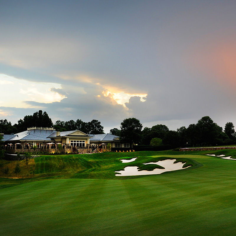 Tee off at TPC Potomac in Maryland