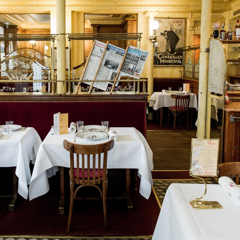 Restaurant Benoit Paris
